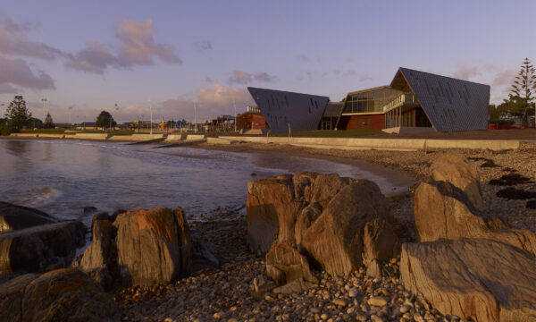 Jaws Architects Surf Lifesaving Club Public Commercial Devenport Tasmania Site Location Exterior Beach