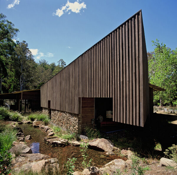 Tourism Jaws Architects Mount Field Visitor Centre National Park Tasmania Timber cladding exterior nature