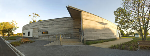 Jaws Architects Bass Strait Maritime Centre Public Tourism Heritage Exterior Timber Facade