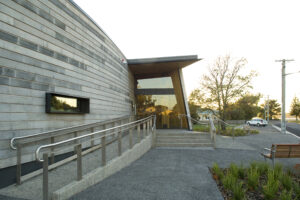 Jaws Architects Bass Strait Maritime Centre Public Tourism Heritage Entrance Exterior