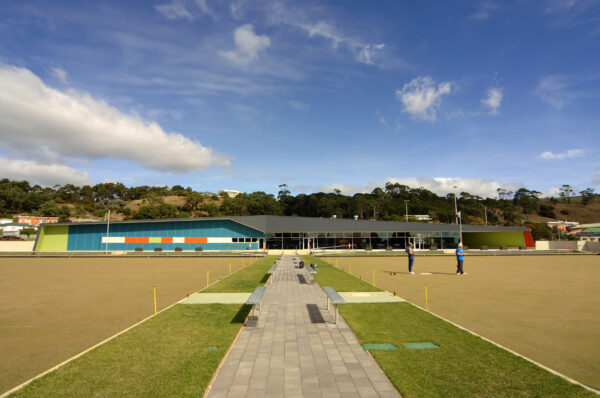 Jaws Architects Public Burnie Bowls Club Outdoor Grounds Lawn