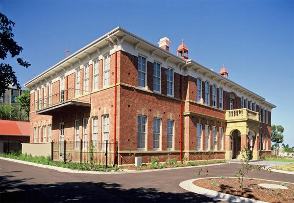 Jaws Architects Albuera St Schoolhouse Apartments Public Architecture Heritage Exterior Hobart Tasmania