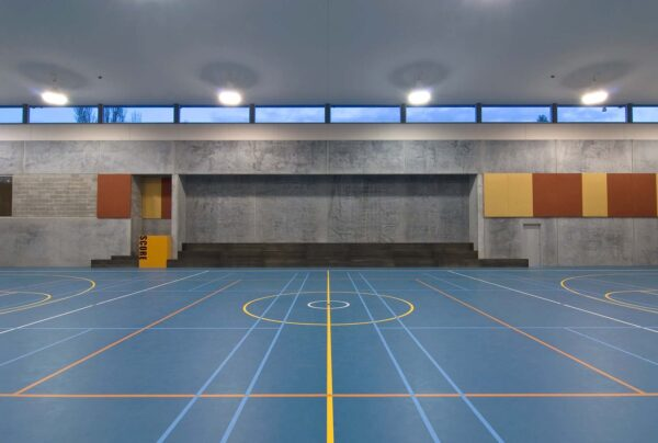 Jaws Architects Fahan Gym and performing arts public architecture indoor sports interior