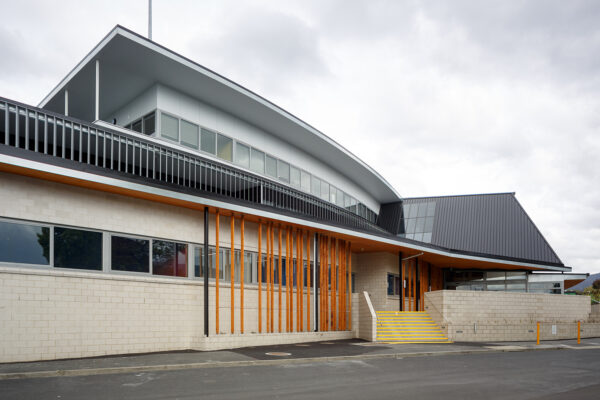 Jaws Architects Public Architecture KGV Sports & Community Centre Glenorchy Exterior