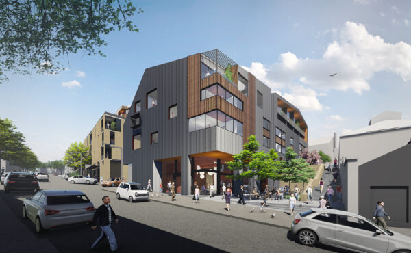 Jaws Architects Residential Public Commercial Architecture Montpelier Project Render exterior