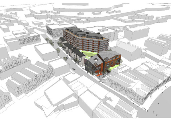 Jaws Architects Residential Public Commercial Architecture Montpelier Project site location street