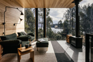 Pumphouse point retreat jaws interiors jaws architects lake st clair
