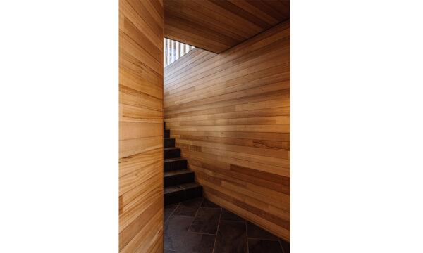 Pumphouse point pavilion guest retreat interior design prefab jaws architects jawsinteriors