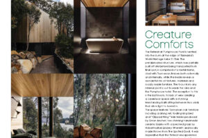 JAWS ARCHITECTS GREEN MAGAZINE FEATURE THE RETREAT