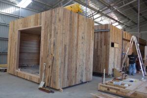 Modular design jaws architects nomad pod