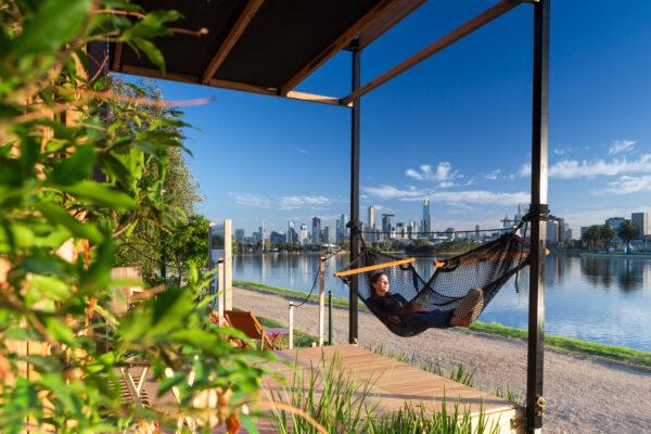 Nomad Pods jaws architects prefab accommodation