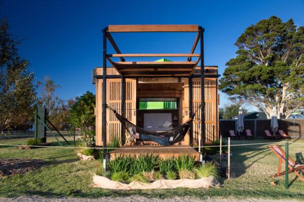 Nomad Pods jaws architects modular design