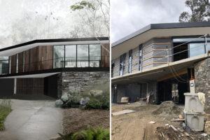 stringybark house jaws architects under construction