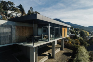 Huon road residence jawsarchitects residential architecture exterior