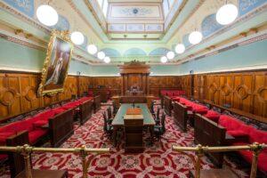 Legislative Council Chamber jaws architects interior design