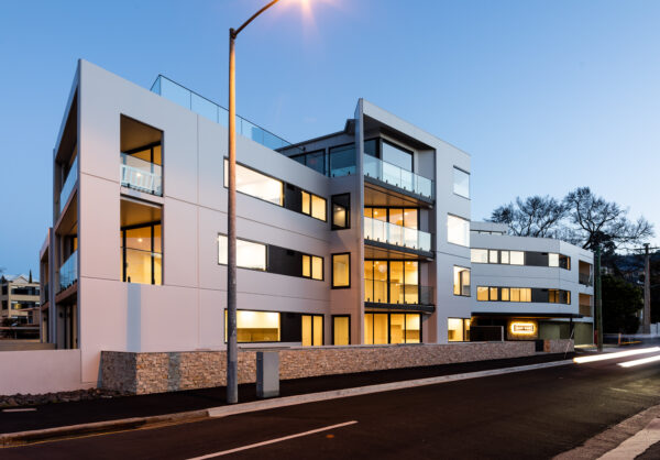 Jaws Architects Bay Vue Apartments Tasmania architecture