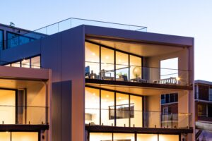 bay vue apartments jaws architects multi-residential architecture hobart