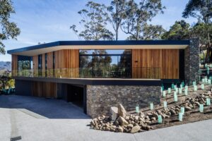 stringybark residence residential architecture jaws architects hobart